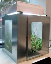 GSC cage with growth lighting unit